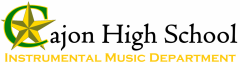 Cajon High School Instrumental Music Department